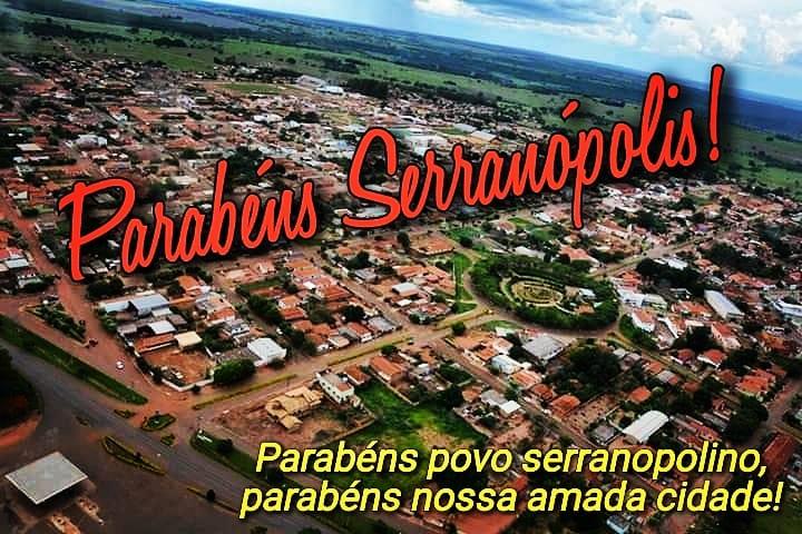 Fonte: www.serranopolis.go.gov.br